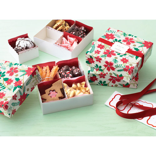 Martha Stewart Crafts - Woodland Collection - Christmas - Treat Boxes with Compartments