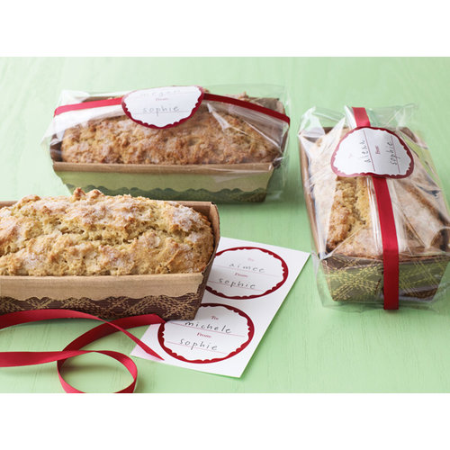 Martha Stewart Crafts - Woodland Collection - Christmas - Loaf Tray and Cellophane Treat Bags