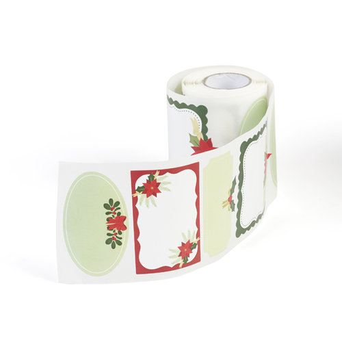 Martha Stewart Crafts - Woodland Collection - Christmas - Self Adhesive Labels - Roll