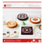 Martha Stewart Crafts - Snowflace Collection - Christmas - Cake Stencils