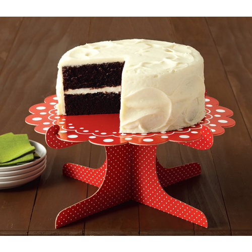 Martha Stewart Crafts - Cottage Christmas Collection - Cake Stand