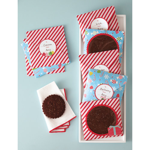 Martha Stewart Crafts - Wonderland Collection - Christmas - Treat Envelopes