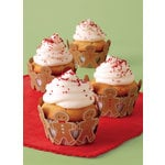 Martha Stewart Crafts - Cottage Christmas Collection - Die Cut Cupcake Treat Wrappers