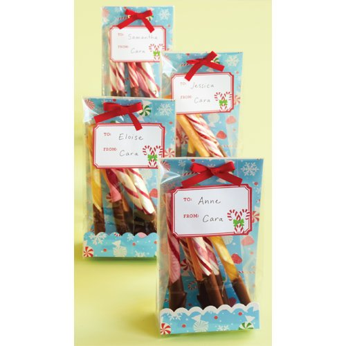 Martha Stewart Crafts - Wonderland Collection - Christmas - Treat Bags
