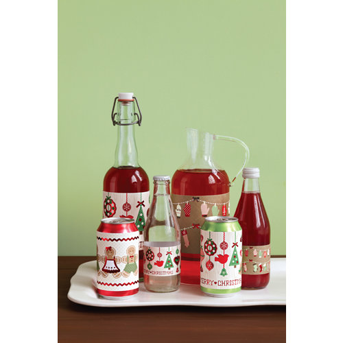 Martha Stewart Crafts - Cottage Christmas Collection - Beverage Labels