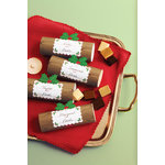 Martha Stewart Crafts - Cottage Christmas Collection - Treat Boxes - Log
