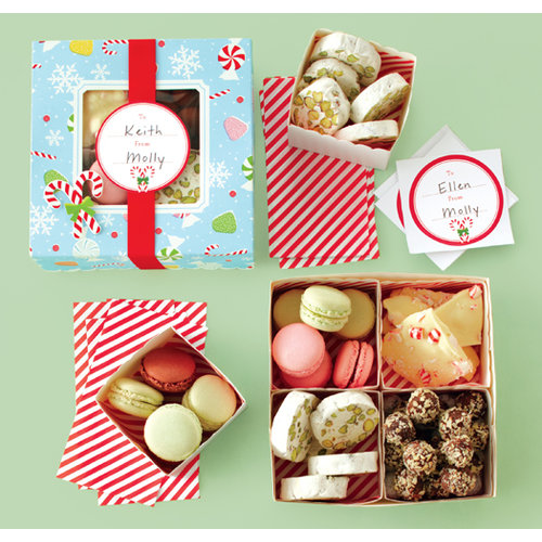 Martha Stewart Crafts - Wonderland Collection - Christmas - Treat Boxes with Compartments