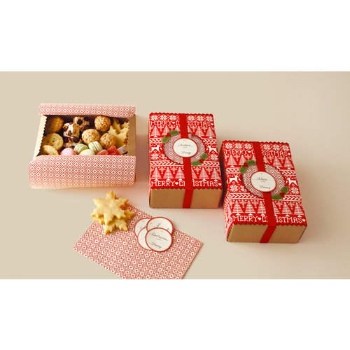 Martha Stewart Crafts - Cottage Christmas Collection - Treat Boxes - Matchbox