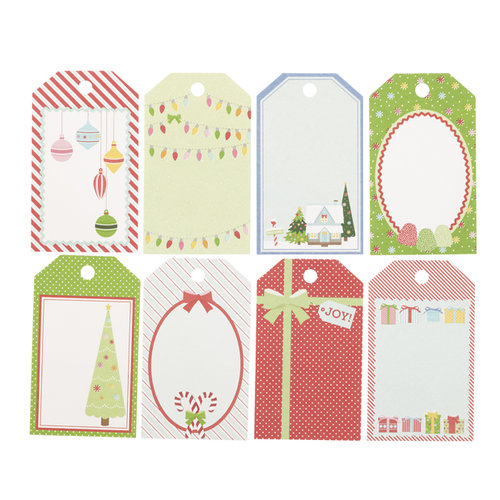 Martha Stewart Crafts - Wonderland Collection - Christmas - Tag Pad