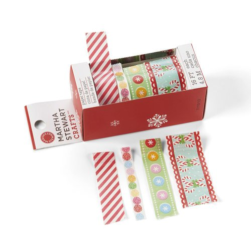 Martha Stewart Crafts - Wonderland Collection - Christmas - Paper Tape