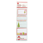 Martha Stewart Crafts - Wonderland Collection - Christmas - Adhesive Label Pad