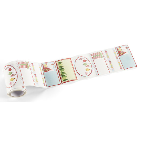 Martha Stewart Crafts - Wonderland Collection - Christmas - Adhesive Labels
