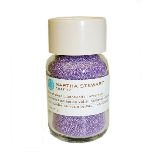 Martha Stewart Crafts - Luster Glass Microbeads - Amethyst
