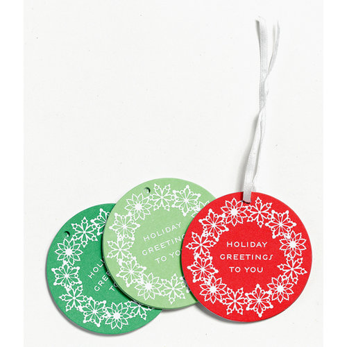 Martha Stewart Crafts - Holiday - Tags - Snowflake, CLEARANCE