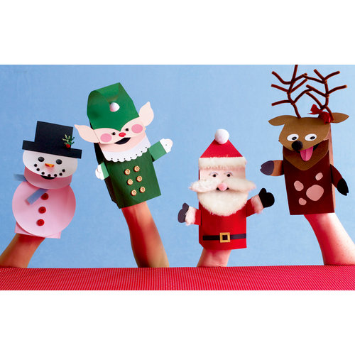 Martha Stewart Crafts - Holiday - Puppet Kit, BRAND NEW