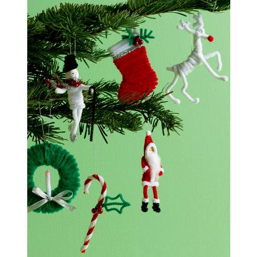 Martha Stewart Crafts - Holiday - Pipe Cleaner Ornament Kit - Holiday