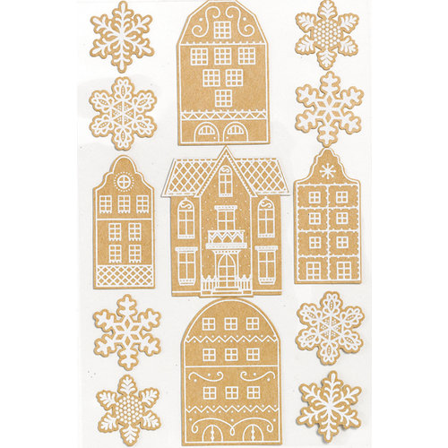 Martha Stewart Crafts - Holiday - Stickers - Gingerbread
