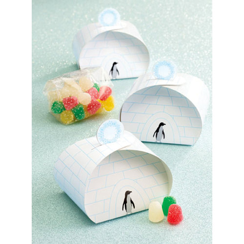 Martha Stewart Crafts - Holiday - Treat Boxes - Igloo