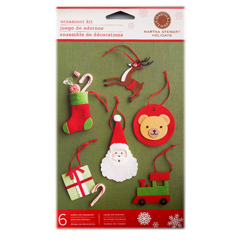 Martha Stewart Crafts - Holiday - 3 Dimensional Felt Toy Ornament Kit