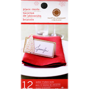 Martha Stewart Crafts - Holiday - Elegant Place Cards, CLEARANCE