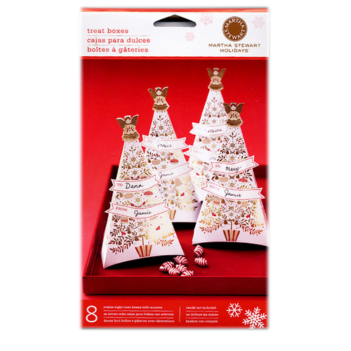 Martha Stewart Crafts - Holiday - Treat Boxes - Elegant Tree