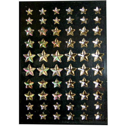 Martha Stewart Crafts - Holiday - Bling - Gemstone Stickers - Star, BRAND NEW