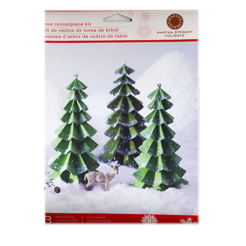 Martha Stewart Crafts - Holiday - Tree Centerpiece