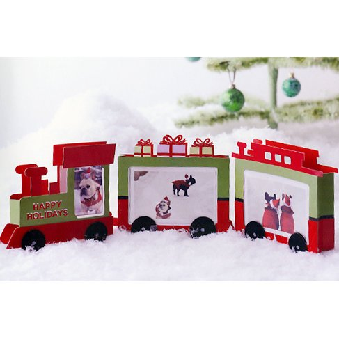 Martha Stewart Crafts - Holiday - Train Photo Centerpiece, CLEARANCE
