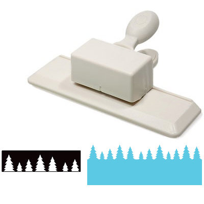 Martha Stewart Crafts - Edge Wing Punch - Pine Forest