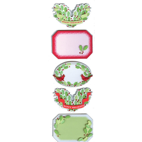 Martha Stewart Crafts - Holiday - Self Adhesive Labels - Traditional