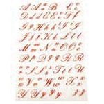 Martha Stewart Crafts - Holiday - Stickers - Elegant Alphabet, CLEARANCE