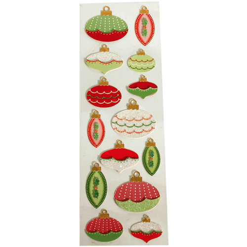 Martha Stewart Crafts - Holiday - Stickers - Elegant Ornamental