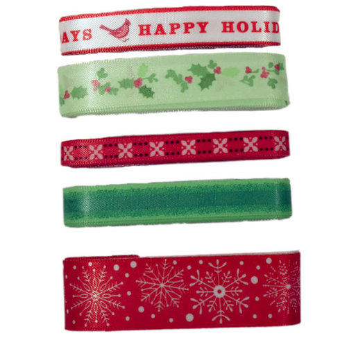 Martha Stewart Crafts - Holiday - Adhesive Ribbon Pack - Traditional