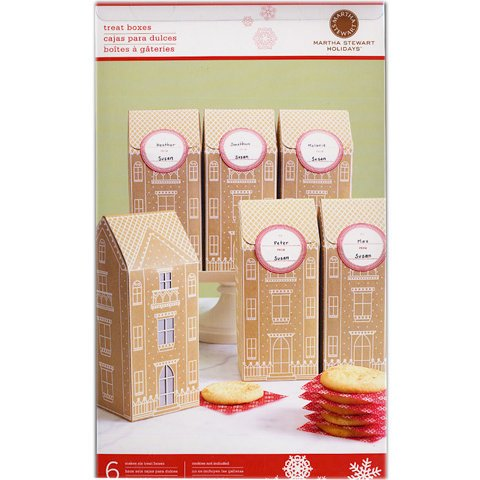 Martha Stewart Crafts - Holiday - Tall Box - Gingerbread
