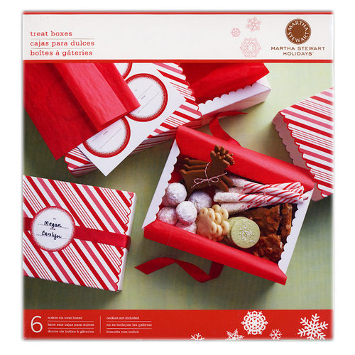 Martha Stewart Crafts - Holiday - Match Box - Candy Cane