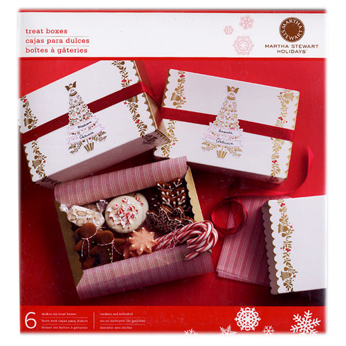 Martha Stewart Crafts - Holiday - Match Box - Elegant