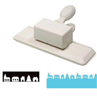 Martha Stewart Crafts - Holiday - Edge Wing Punch - Frosty Village