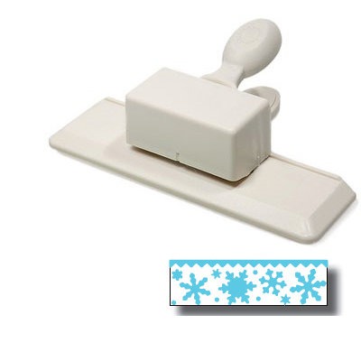 Martha Stewart Crafts - Holiday - Edge Wing Punch - Snow Flurry