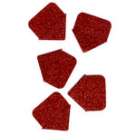 Martha Stewart Crafts - Valentine - Glitter Photo Corners - Red, CLEARANCE
