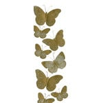 Martha Stewart Crafts - 3 Dimensional Stickers with Glitter Accents - Golden Butterfly, CLEARANCE