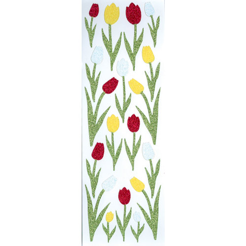 Martha Stewart Crafts - Glitter Stickers - Tulips