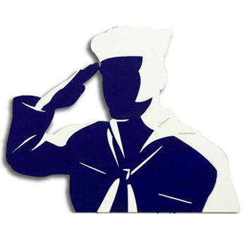 Memories In Uniform - Laser Cut - US Navy Hero Male Enlisted