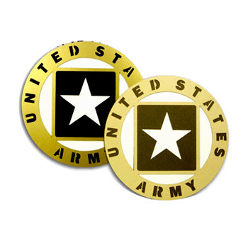 Memories In Uniform - Laser Cut - Army Service Emblem