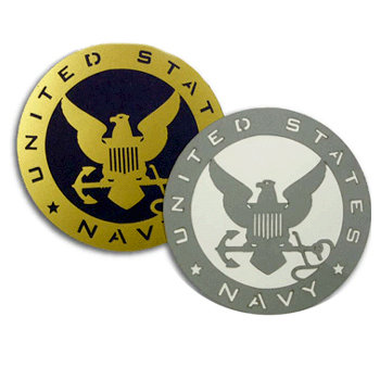 Memories In Uniform - Laser Cut - US Navy Service Emblem