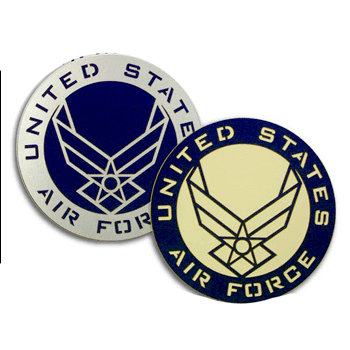 Memories In Uniform - Laser Cut - Air Force Service Emblem