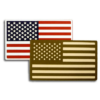 Memories In Uniform - Laser Cut - US Flags