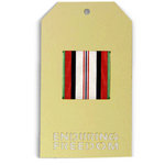 Memories In Uniform - Laser Cut - Enduring Freedom Service Tag