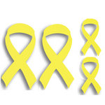 Memories In Uniform - Laser Cut - Yellow Ribbon