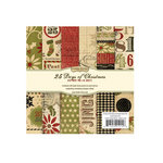 Memory Works - Simple Stories - 25 Days of Christmas Collection - 6 x 6 Paper Pad
