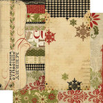 Memory Works - Simple Stories - 25 Days of Christmas Collection - 12 x 12 Double Sided Paper - Page Elements